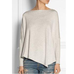 Helmut Lang Gray Batwing Fleece Sweater Large